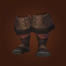 Dashing Strike Treads, Ember Worg Boots, Ember Worg Boots Model