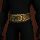 Thatch Eave Vines, Vicious Wyrmhide Belt Model