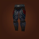 Crafted Malevolent Gladiator's Silk Trousers Model