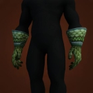 Turtle Scale Gloves Model