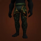 Fel-Chain Leggings Model