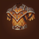 Flaming Core Chestguard Model