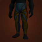 Nether Blast Leggings, Yeti-Hide Legguards, Living Wood Legguards Model