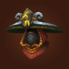 Hood of Smoldering Flesh, Fire-Charm Headpiece, Fire-Charm Crown, Fire-Charm Helm, Hood of Smoldering Flesh Model