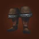 Ravaged Leather Boots Model
