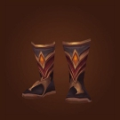 Boots of the Black Flame Model