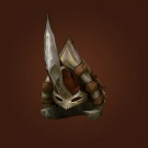 Ahn'Kahar Blood Hunter's Headpiece, Taldron's Short-Sighted Helm Model