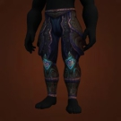 Aberration's Leggings, Wind Dancer's Legguards, Wind Stalker Leggings Model