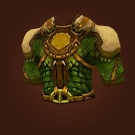 Greenhealer's Garb, Tunic of the Unduly Victorious, Overcast Chestguard Model