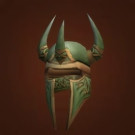Imperial Leather Helm, Serpentskin Helm, Indomitable Headdress Model