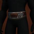 Snow-Coated Cloth Belt Model