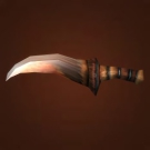 Giant Tarantula Fang, Daggerspine Dagger, Gnawbone Knife Model