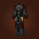 Malevolent Gladiator's Silk Robe Model