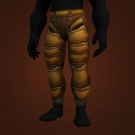 Adventurer's Legguards, Thick Draenic Pants Model