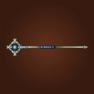 Guiding Stave of Wisdom, Whiteout Staff, Runed Silver Staff, Splintering Greatstaff Model