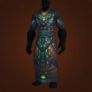Malevolent Gladiator's Mooncloth Robe, Malevolent Gladiator's Satin Robe, Crafted Malevolent Gladiator's Mooncloth Robe, Crafted Malevolent Gladiator's Satin Robe Model