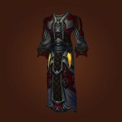 Crafted Malevolent Gladiator's Silk Robe Model