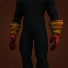 Red Mageweave Gloves Model