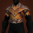 Flaming Core Chestguard, Flamewaker's Tunic Model
