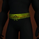 Serpent Clasp Belt Model