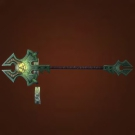 Relentless Gladiator's Staff Model