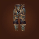 Titan-Forged Plate Legguards of Salvation, Relentless Gladiator's Ornamented Legplates, Relentless Gladiator's Scaled Legguards Model