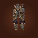 Titan-Forged Plate Legguards of Salvation, Relentless Gladiator's Ornamented Legplates, Relentless Gladiator's Scaled Legguards Model