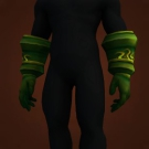 Emerald Gauntlets, Ironvine Gloves, Commander Skyshadow's Gloves Model