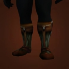 Lightweight Plate Boots Model