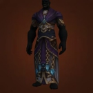 Robes of the Arcane Ultimatum, Eye-Catching Gilded Robe, Arcanoshatter Robes Model