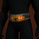 Stormleather Sash, Lightning Well Belt Model