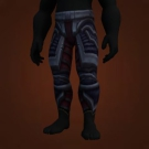 Merciless Gladiator's Leather Legguards, Leggings of Murderous Intent Model