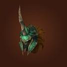 Crafted Dreadful Gladiator's Dreadplate Helm Model