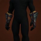 Serpentine Gloves, Gauntlets of Reckless Assault, Rancorbite Grips, Vintage Draenic Handguards Model