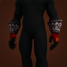 Bloodspattered Gloves Model