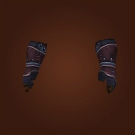 Deadly Gladiator's Leather Gloves Model