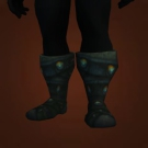 Footpads of Impending Death, Frostbitten Fur Boots, Taldaram's Soft Slippers Model