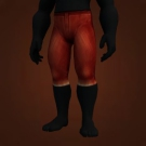 Buccaneer's Pants, Crimson Silk Pantaloons, Felcloth Pants Model