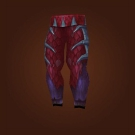 Flame Pillar Leggings, Shadowflame Leggings Model