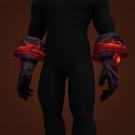 Clawshaper Gauntlets, Erupting Volcanic Handwraps, Erupting Volcanic Grips, Erupting Volcanic Gloves Model