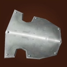 Formidable Crest, Alabaster Shield, Hardened Steel Shield Model