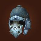 Carved Bone Helm Model