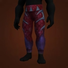 Flame Pillar Leggings Model