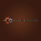 Barbarian Staff, Rigid Staff, Jinyu Combat Staff Model