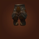 Legplates of Redeemed Blood, Legplates of Feverish Dedication, Legplates of the Redeemed Blood Knight, Legplates of Feverish Dedication, Honorary Combat Engineer's Legguards Model