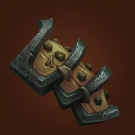 Wasteland Hide Spaulders, Wasteland Leather Spaulders Model