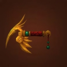 Red Crane Scepter, Immaculate Pandaren Cane, Immaculate Pandaren Rod Model