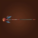 Staff of Fiery Fate, The Chief's Enforcer, Voodoo Hex-Staff Model