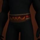 Waistband of Hexes, Brittle Flamereaver Belt Model