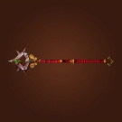 Polished Staff, Bronzed Staff, Staff of Inner Focus, Barbarian Staff, Rigid Staff Model